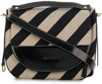 J.W.Anderson striped shoulder bag