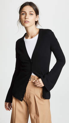 Theory Bell Sleeve Cashmere Cardigan