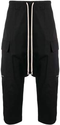 Rick Owens classic drop-crotch trousers