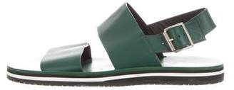 Marni Leather Strap Sandals