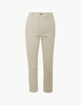 Marks and Spencer High Waist Slim Cropped Jeans