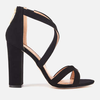 ac32e7468d69 at TheHut.com · Miss KG Women s Faun Suedette Strappy Heeled Sandals