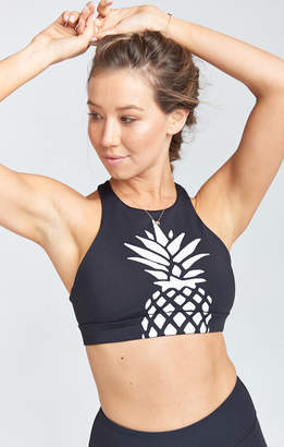 Show Me Your Mumu Arc Bra ~ White Pineapple Graphic
