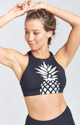 Show Me Your Mumu Arc Bra ~ White Pineapple Graphic