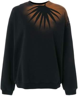 Maison Margiela airbrushed palm print sweatshirt