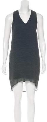 Helmut Lang Crepe Sleeveless Dress