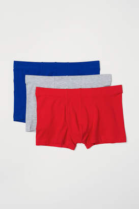 H&M 3-pack Boxer Shorts - Red