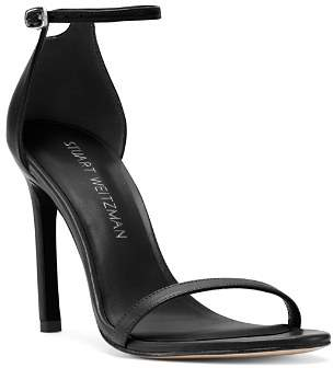 Stuart Weitzman Women's Nudistsong Patent Leather High-Heel Sandals