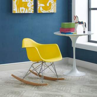 Modway Kids Contemporary Rocking Chair, Multiple Colors