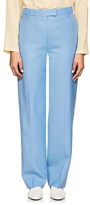 The Row Women's Lada Wool Suiting Canvas Trousers