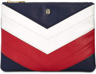 Tommy Hilfiger Chevron Pouch Wallet