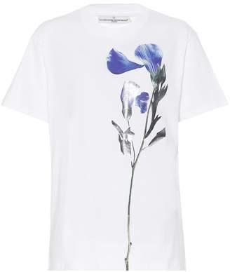 Golden Goose Floral-printed cotton T-shirt