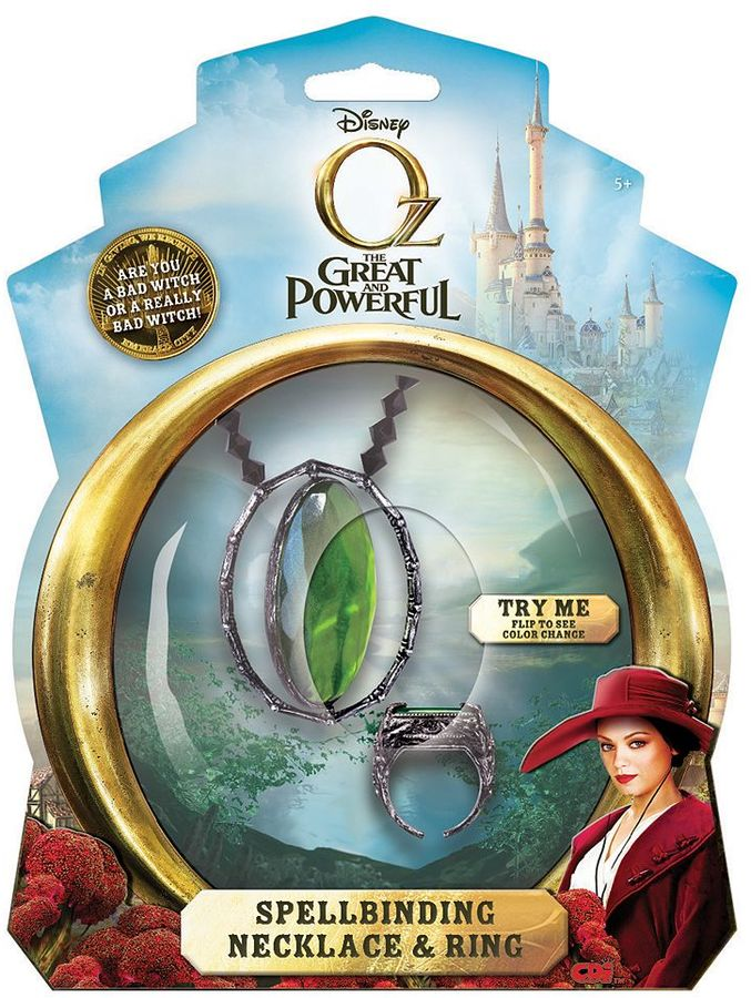Disney oz the great and powerful spellbinding necklace & ring set