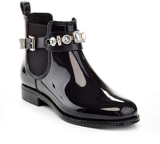HENRY FERRERA Henry Ferrera Womens England Short Rain Boots Water Resistant Flat Heel