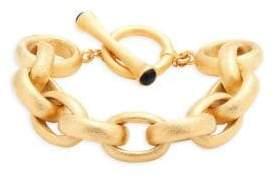 Rivka Friedman 18K Goldplated Link Bracelet