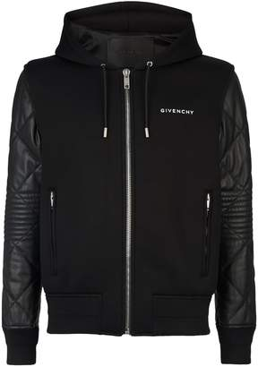 Givenchy Neoprene Leather Jacket