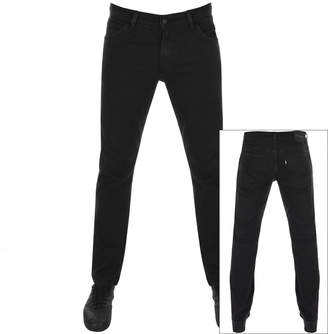 Levi's Levis Line 8 511 Slim Straight Jeans Black