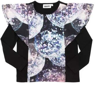 Molo Disco Ball Print T-Shirt