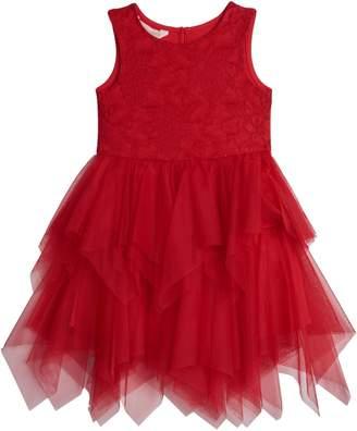 Pastourelle Little Girl's Lace Tutu Dress