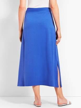 Talbots Solid Maxi Skirt