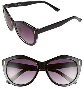 A.J. Morgan 'Epic' 57mm Sunglasses $24 thestylecure.com
