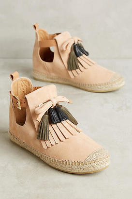 Intropia Kiltie Espadrille Boots $228 thestylecure.com