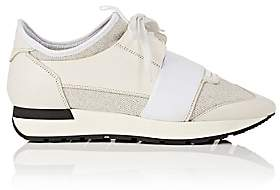 Balenciaga Women's Race Runner Sneakers - Silver
