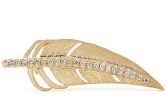 Shelly Zucker Jewelry Diamond Feather Earring