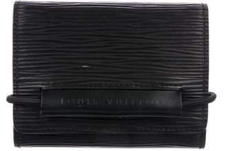 Louis Vuitton Epi Porte-Monnaie Élastique Wallet