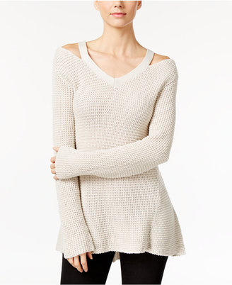 Style & Co. Cutout High-Low Sweater, Only at Macy's $49.50 thestylecure.com