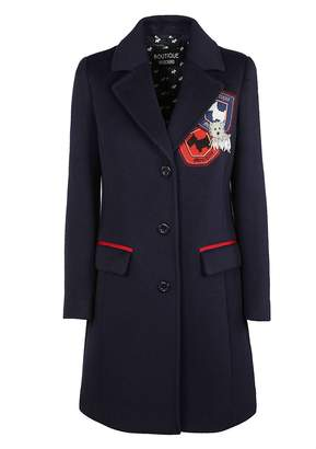 Moschino Patched Coat