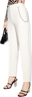 Topshop Chain Clean Peg Trousers