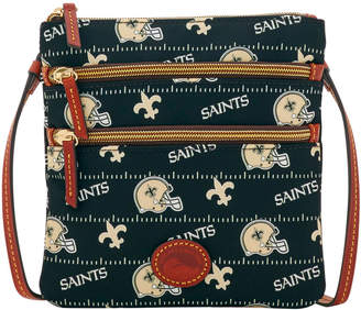 Dooney & Bourke NFL Saints North South Triple Zip