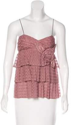 Missoni Open Knit Sleeveless Top