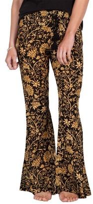 Women's Volcom Golden Lantern Print Flare Pants $49.50 thestylecure.com