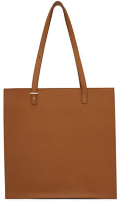Pb 0110 Brown Leather Tote