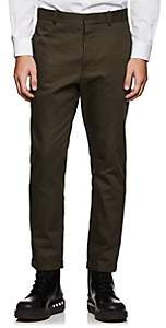 Marni MEN'S COTTON TWILL STRAIGHT TROUSERS