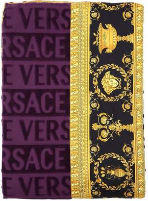 Versace Barocco & Robe Beach Towel