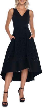 Pilgrim Kayla V Neck Dress