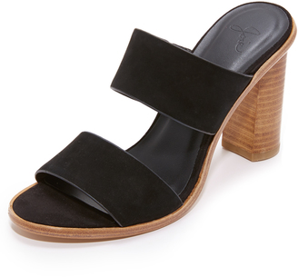 Joie Banner Heel Sandals $298 thestylecure.com