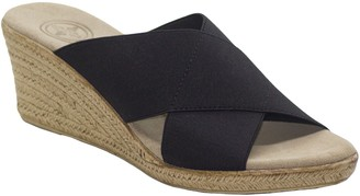 Charleston Shoe Co. Crisscross Sandals - Backless Cannon