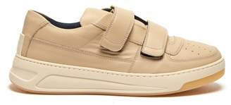 Acne Studios Perey Low Top Leather Trainers - Mens - Beige