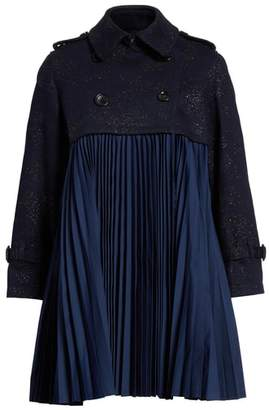 Comme des Garcons Pleated Trench Coat