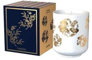 Floraiku Mimosa Tea Cup Candle/4.6 oz.