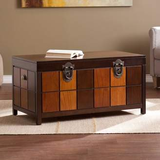Hartford Southern Enterprises Trunk Cocktail Table, Multi-Tonal