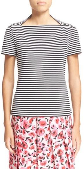 Women's Kate Spade New York Stripe Cotton Tee