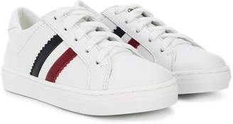 Moncler tri-stripe lace-up sneakers