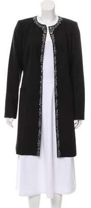 Magaschoni Structured Embellished Coat