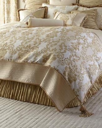 Horchow Austin Horn Classics King Antoinette Chenille Comforter