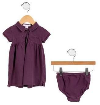 Burberry Girls' Embroidered Dress Set